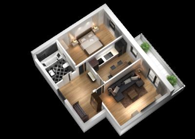 Mieszkanie nr45