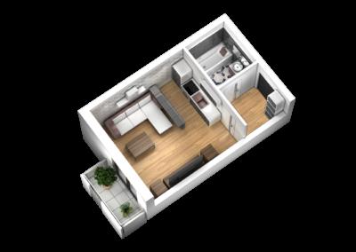 Mieszkanie nr4